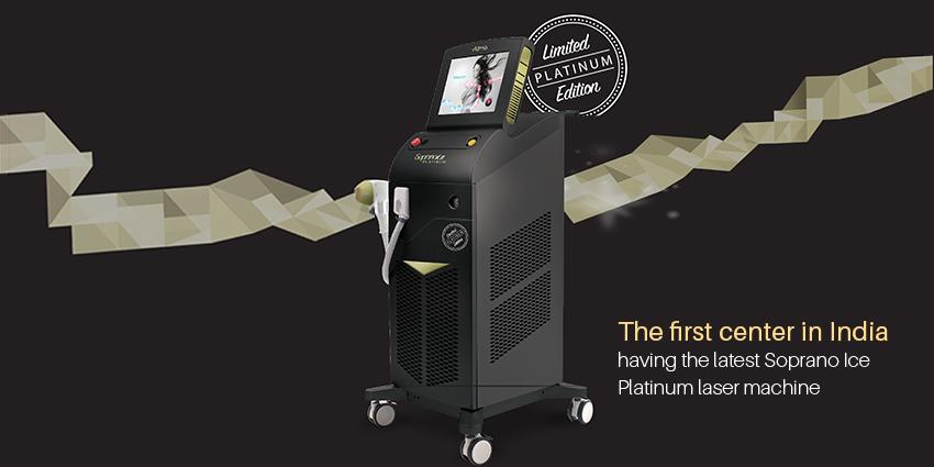 Latest Addition To Our Equipments – Soprano Ice Platinum Laser Machine