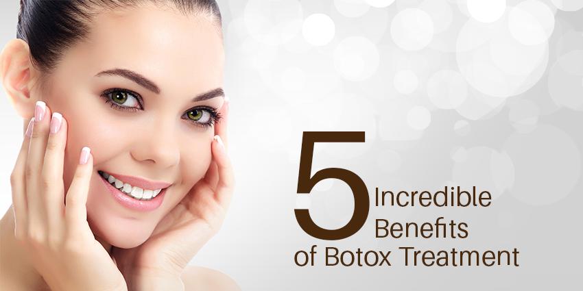 5 Incredible Benefits of Botox Treatment