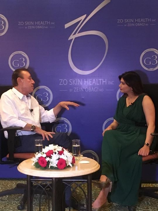 Dr. Monisha Kapoor in conversation with Dr Zein Obagi